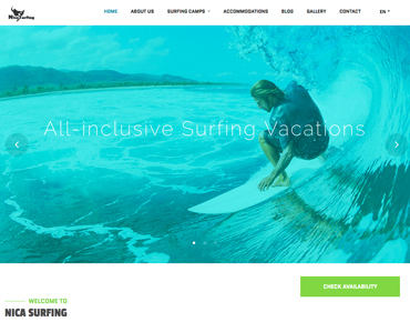 Project Nica Surfing